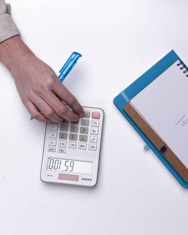 Calculators header