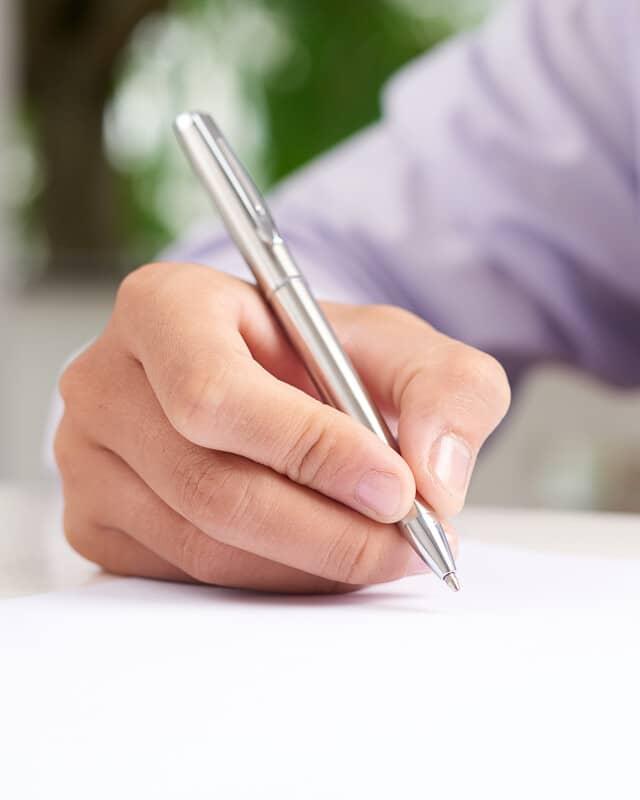 Metal Style Pens header