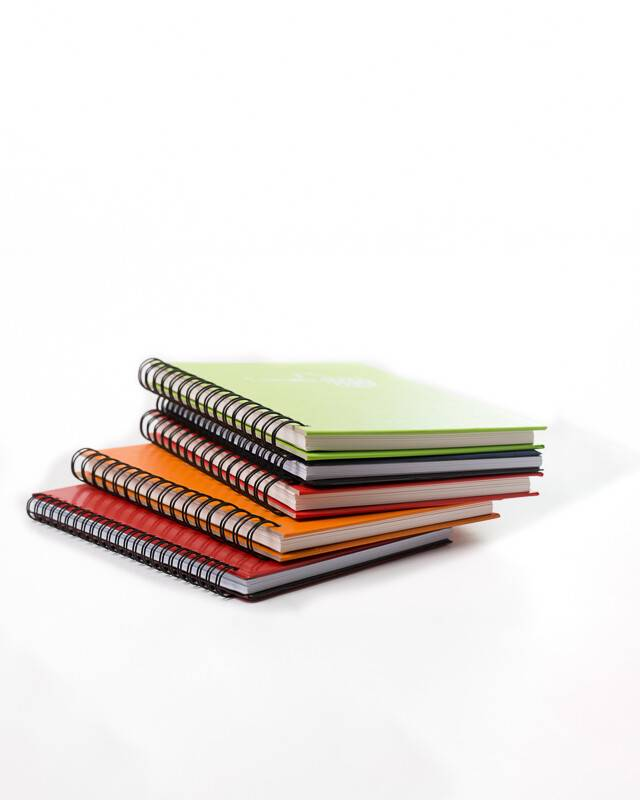 A6 Notebook header