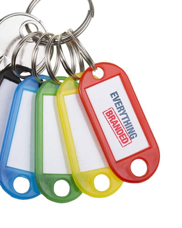 Plastic Keyrings header
