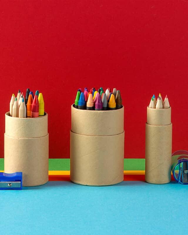 Pencils & Crayons header